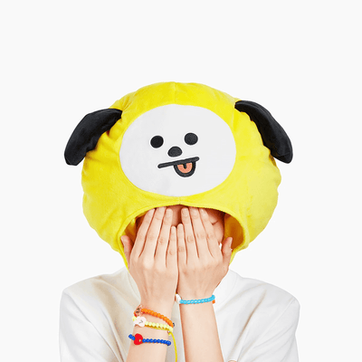 BT21 CHIMMY Plush Bighead Doll Hat