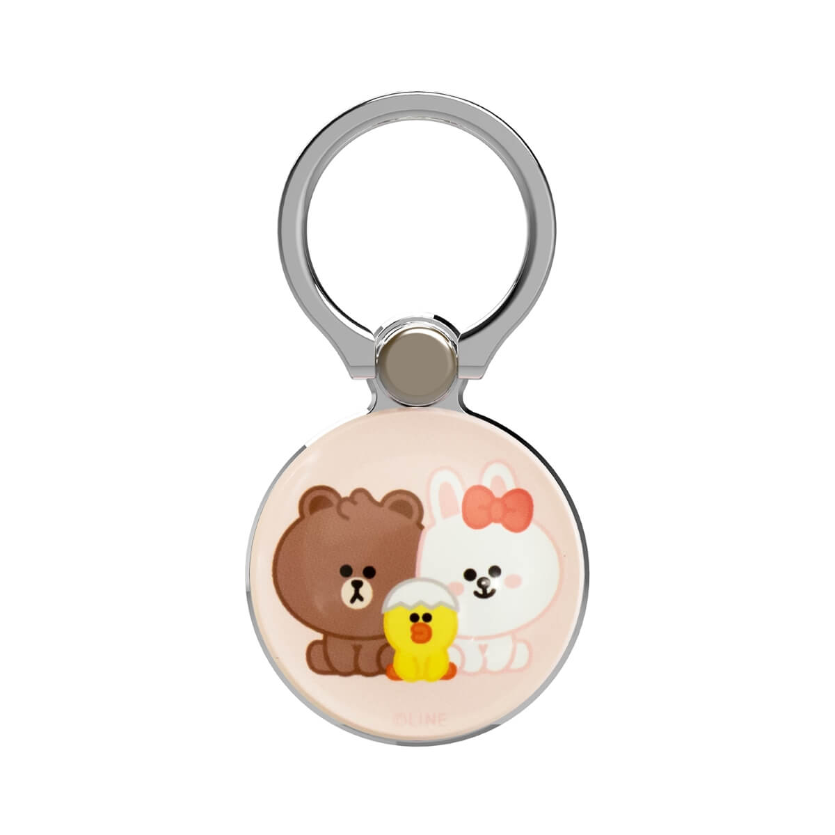 LINE FRIENDS iPhone Ring Holder / Kickstand, Pink