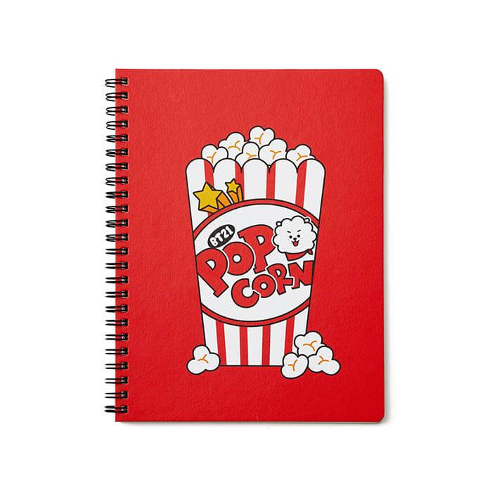 BT21 RJ Sweet A5 Spring Notebook