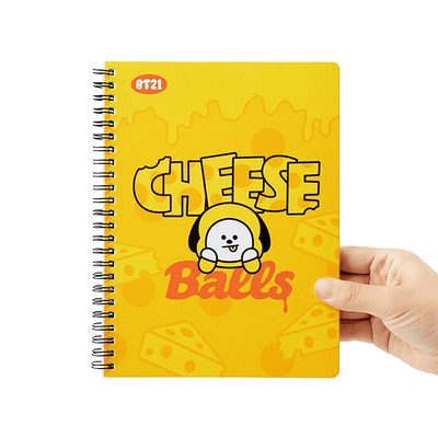 BT21 CHIMMY Sweet A5 Spring Notebook