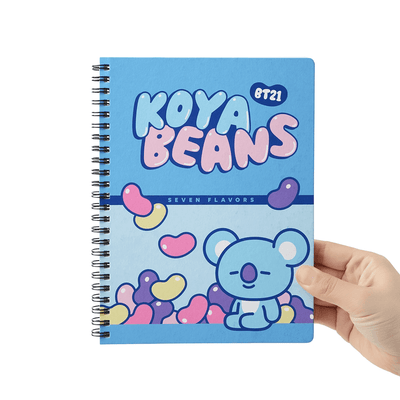 BT21 KOYA Sweet A5 Spring Notebook