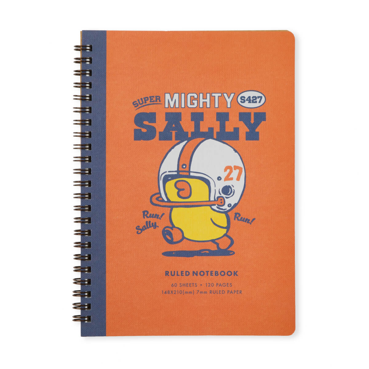 SALLY University A5 Spiral Note