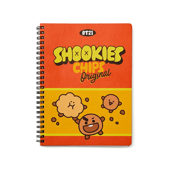 BT21 SHOOKY Sweet A5 Spring Notebook