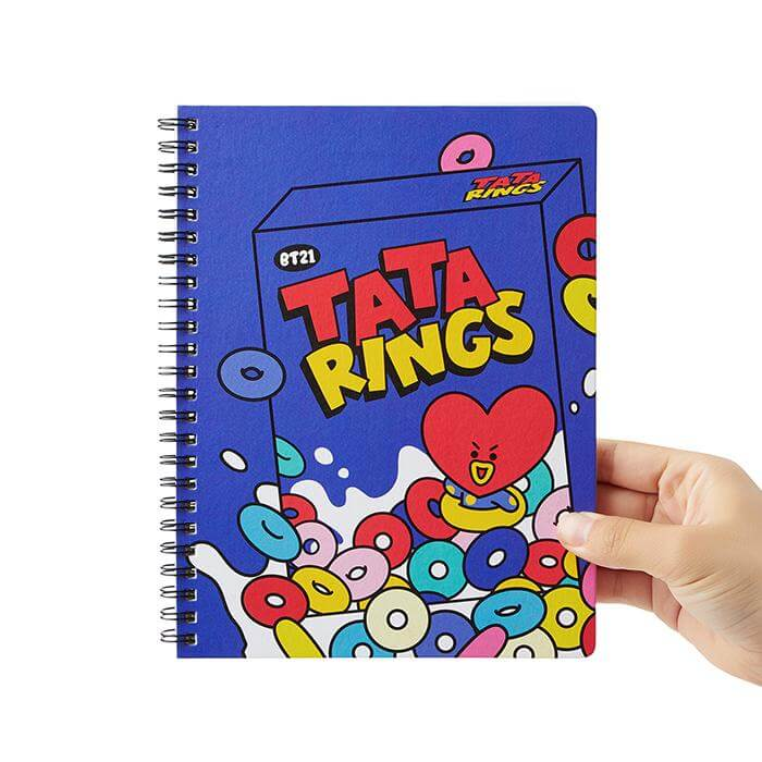 BT21 TATA Sweet A5 Spring Notebook