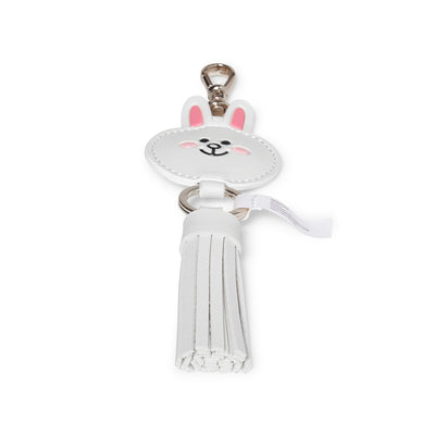 CONY Faux Leather Tassel Bag Charm