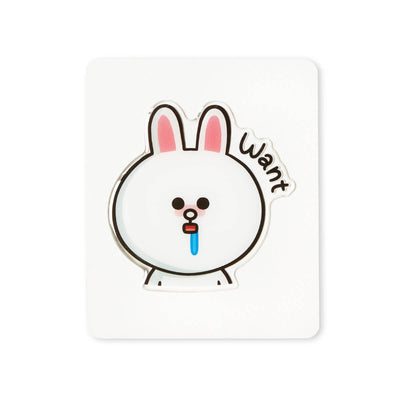 LINE FRIENDS CONY Epoxy Decal Sticker (09)