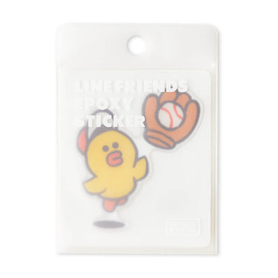 LINE FRIENDS SALLY Epoxy Decal Sticker (17)