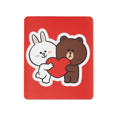 LINE FRIENDS BROWN & FRIENDS Removable Decal Sticker (29)