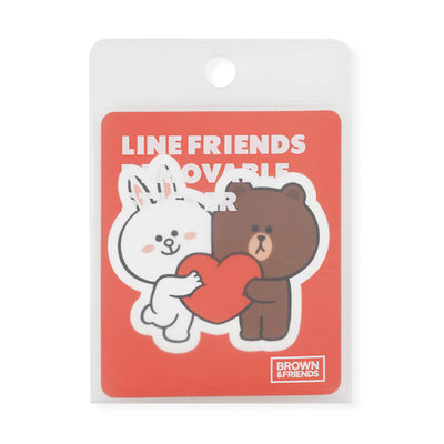 BROWN & FRIENDS Removable Decal Sticker (29)
