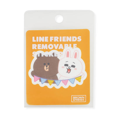 BROWN & FRIENDS Removable Decal Sticker (30)