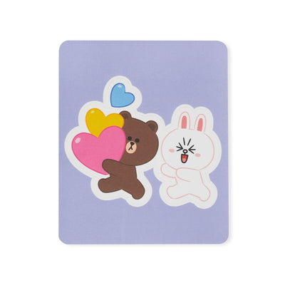 LINE FRIENDS BROWN & FRIENDS Removable Decal Sticker (31)