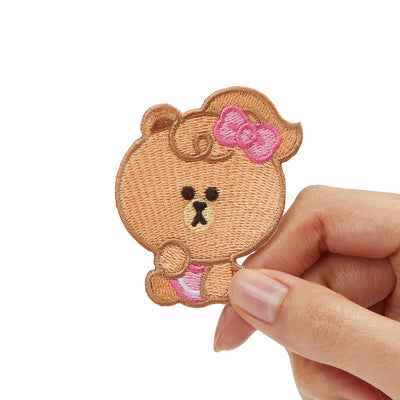 Mini CHOCO No-Iron Embroidered Patch Decal Sticker (21)