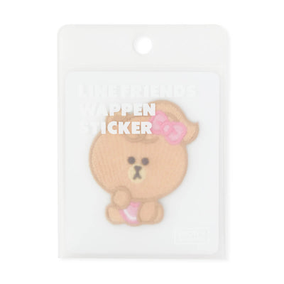 LINE FRIENDS MINI CHOCO No-Iron Embroidered Patch Decal Sticker (21)