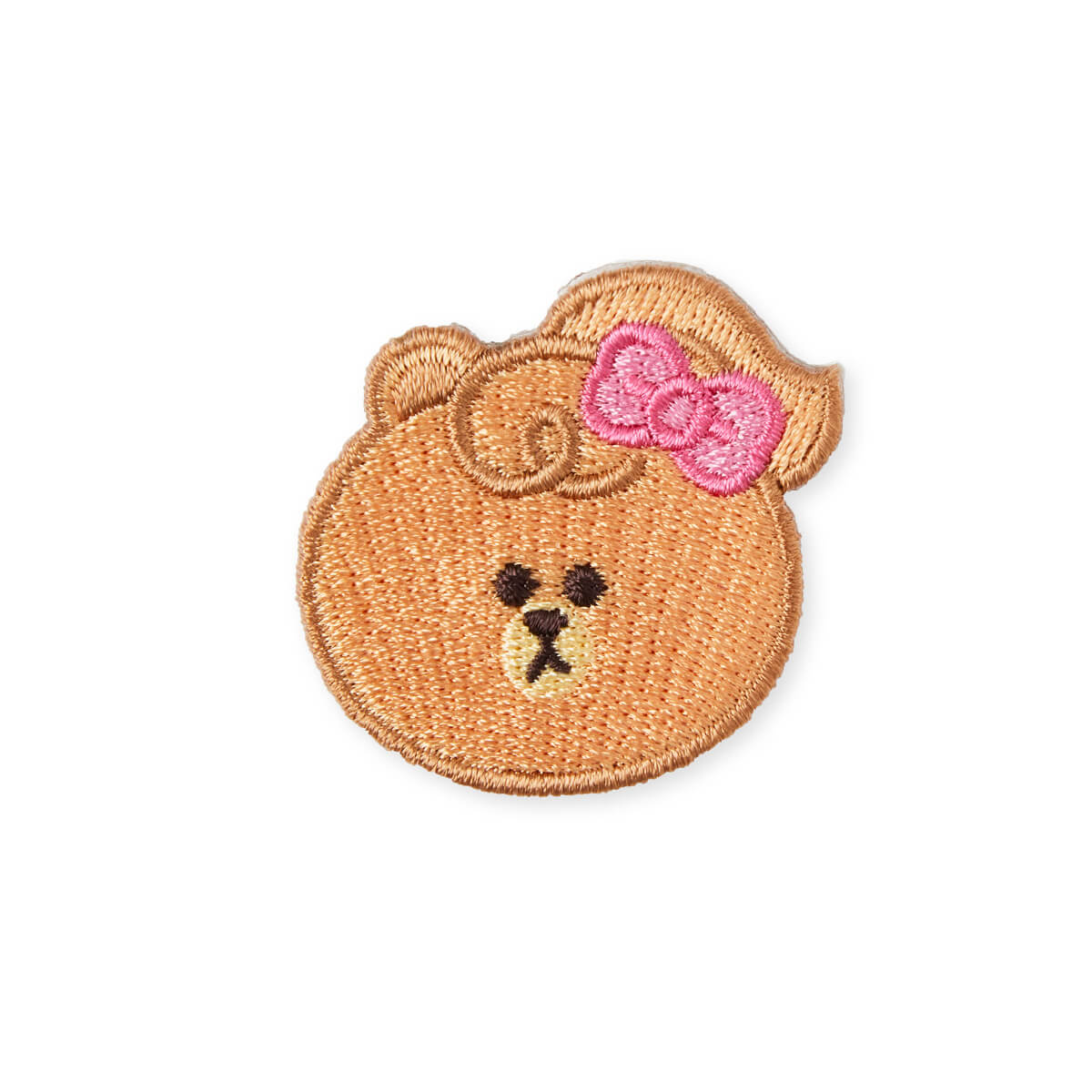 LINE FRIENDS MINI CHOCO No-Iron Embroidered Patch Decal Sticker (23)