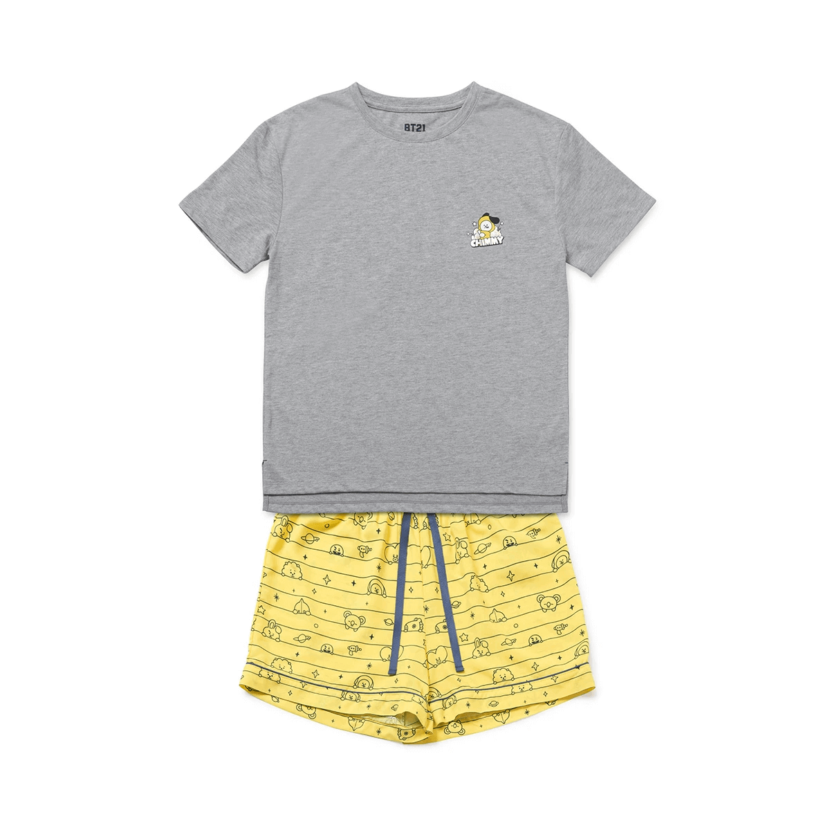 BT21 CHIMMY Summer Pajama Set