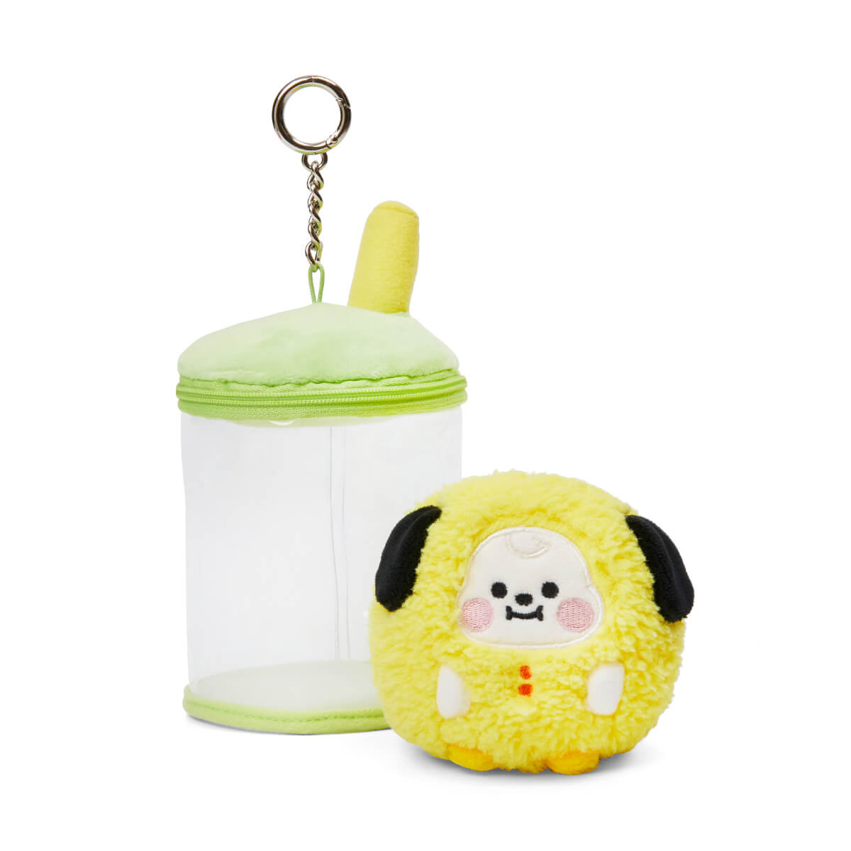 BT21 CHIMMY BABY Boucle Bubble Tea Doll Bag Charm