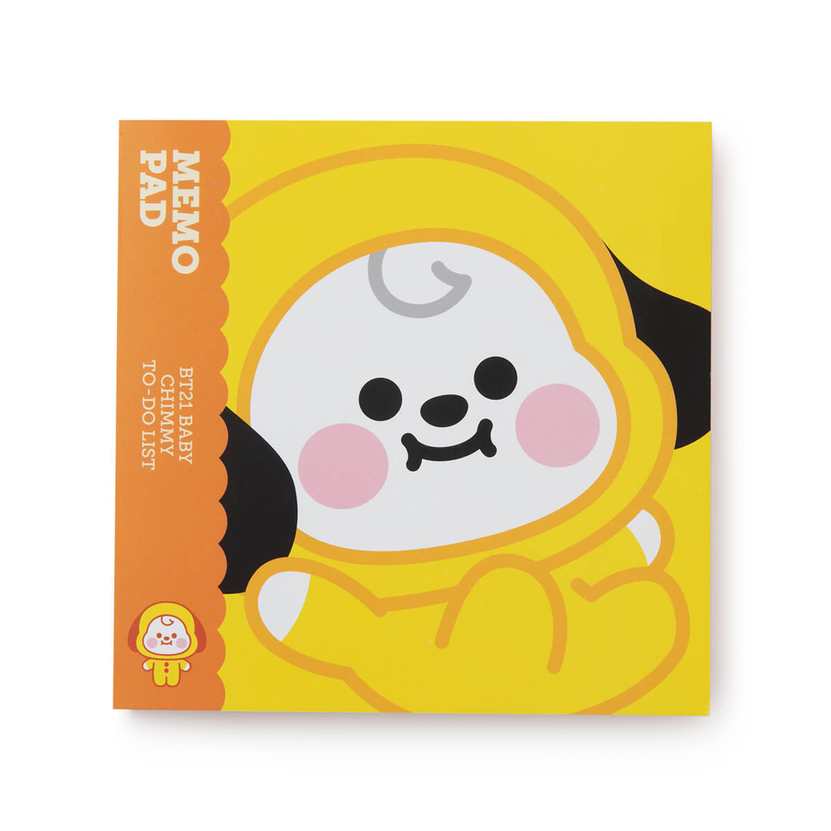 BT21 CHIMMY Baby Memo Pad