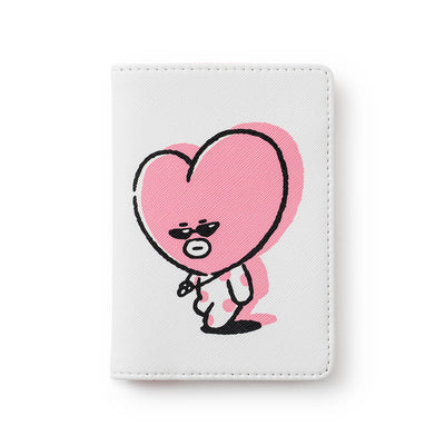 BT21 TATA Music Passport Case