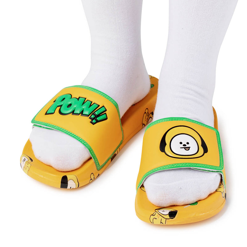 BT21 CHIMMY Velcro slippers