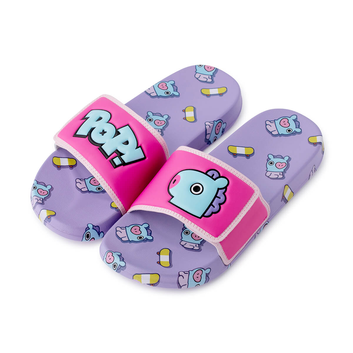 BT21 MANG Velcro slippers