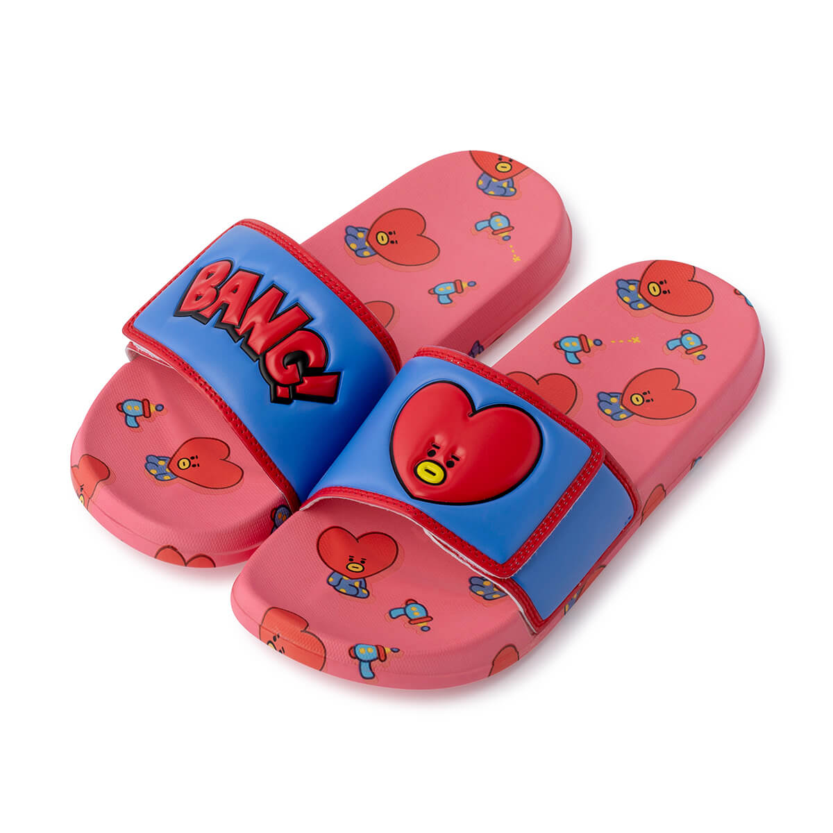 BT21 TATA Velcro slippers