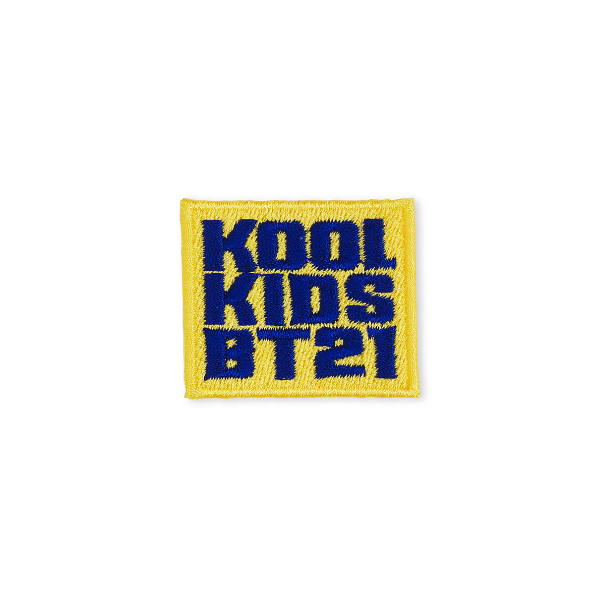BT21 Kool Kids No-Iron Embroidered Patch Decal Sticker