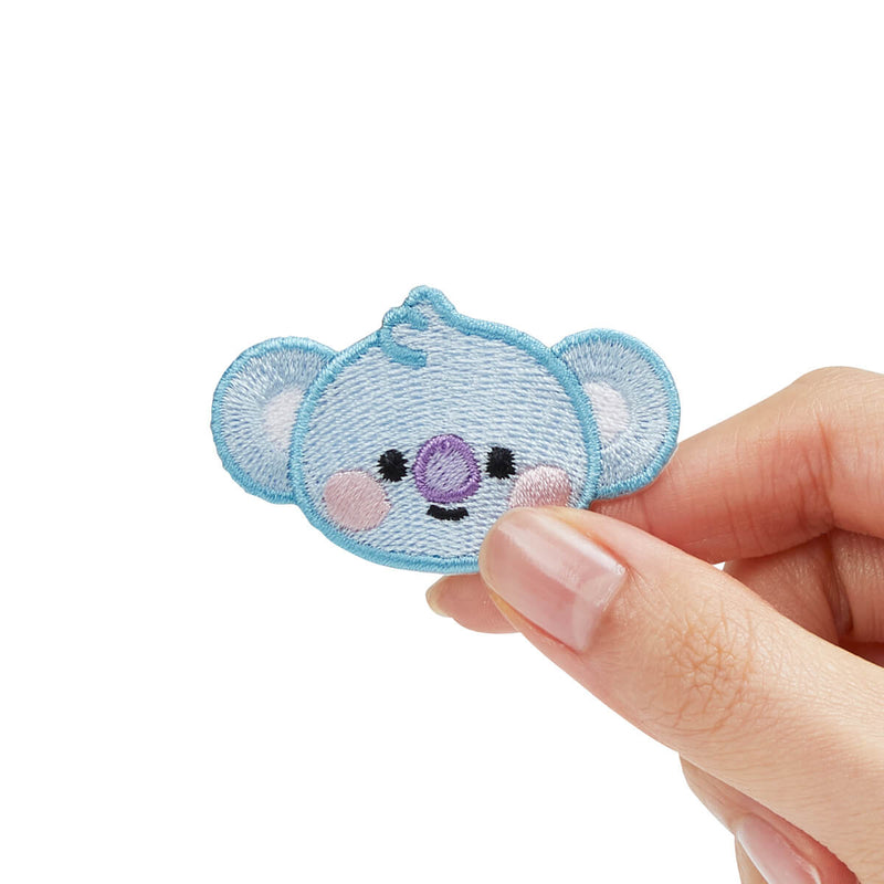 BT21 Baby KOYA No-Iron Embroidered Patch Decal Sticker (22)
