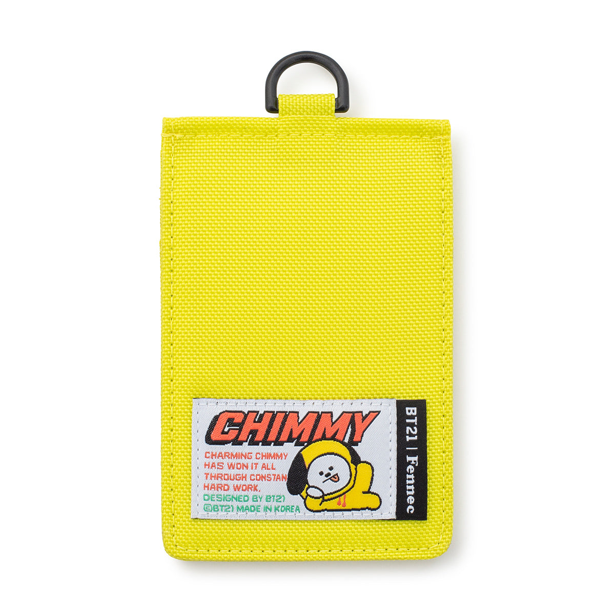 BT21 CHIMMY Fennec Neck Strap Card Holder