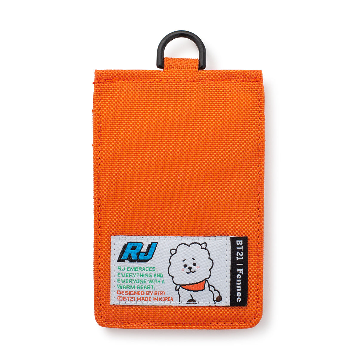 BT21 RJ Fennec Neck Strap Card Holder