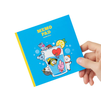 BT21 Summer Dolce Sticky Memo Pad