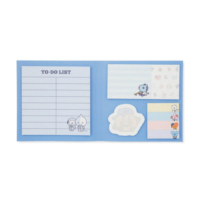 BT21 After School Sticky Memo Pad