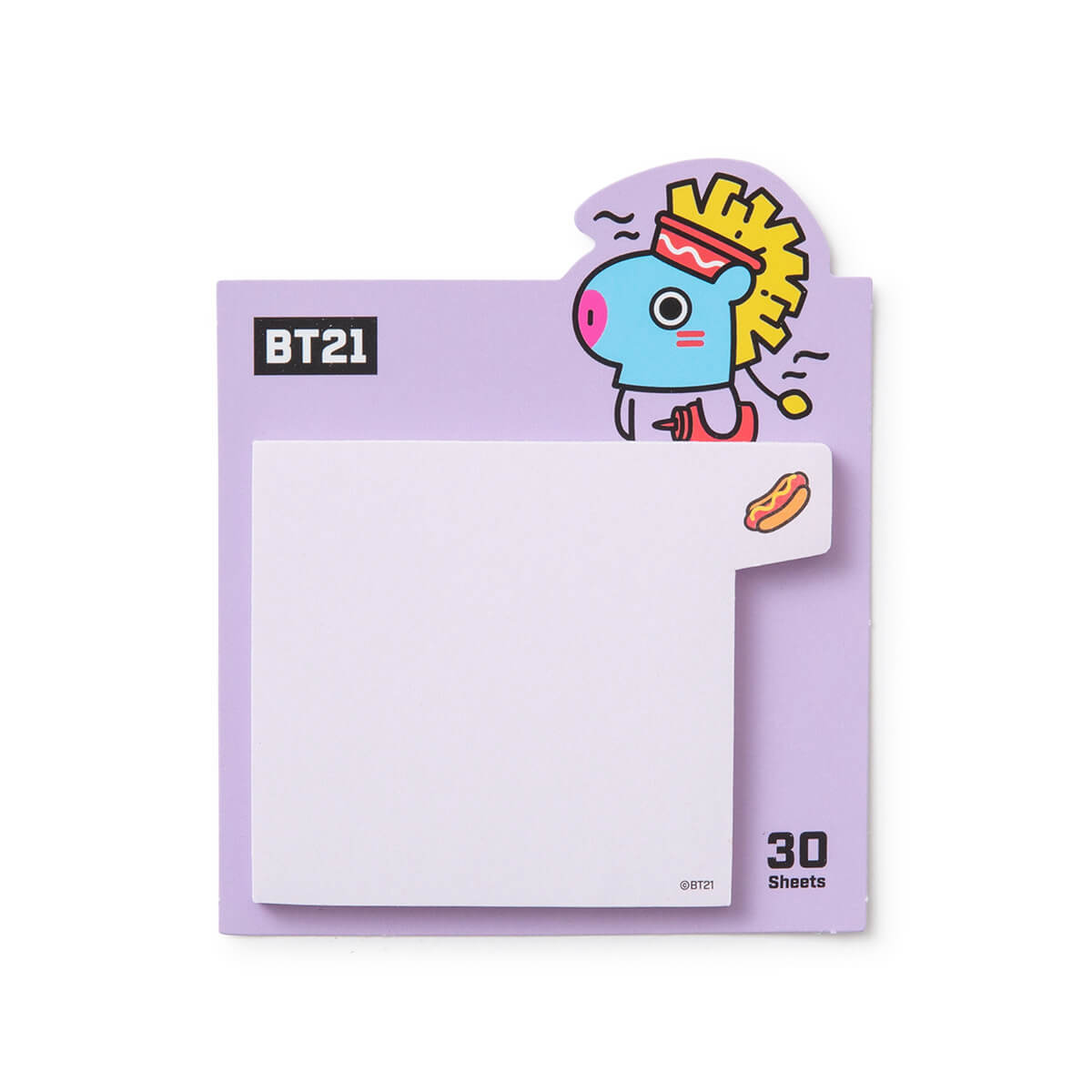BT21 MANG BITE Sticky Note