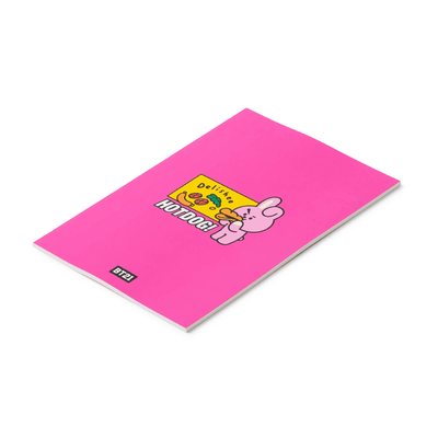 BT21 COOKY BITE Ruled Note