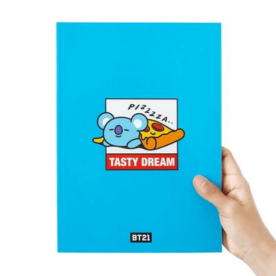 BT21 KOYA BITE Ruled Note