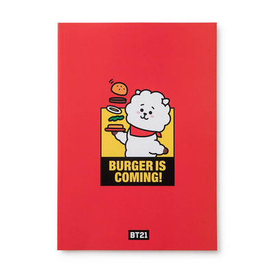 BT21 RJ BITE Ruled Note