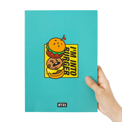 BT21 SHOOKY BITE Ruled Note