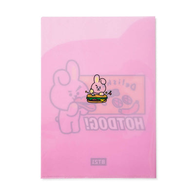 BT21 COOKY BITE 2 Pocket PP Folder