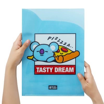 BT21 KOYA BITE 2-Pocket Folder