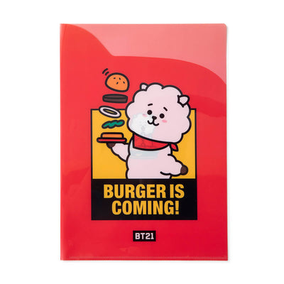 BT21 RJ BITE 2 Pocket PP Folder