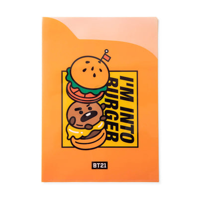 BT21 SHOOKY BITE 2 Pocket PP Folder