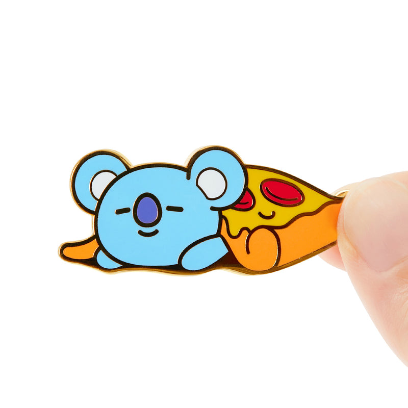 BT21 KOYA Bite Metal Badge