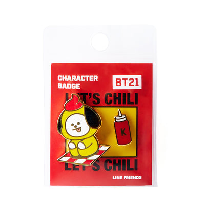 BT21 Bite CHIMMY Enamel Badge