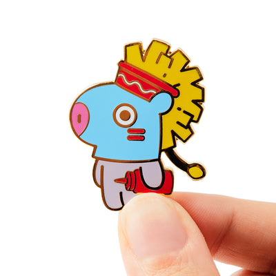 BT21 Bite MANG Enamel Pin