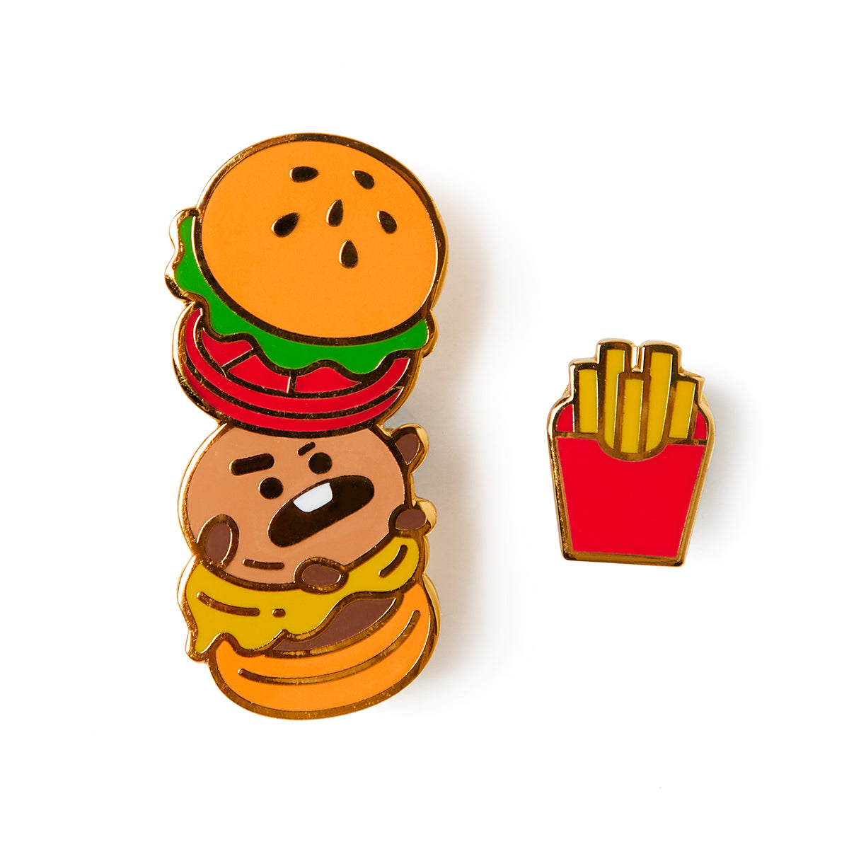 BT21 Bite SHOOKY Enamel Badge