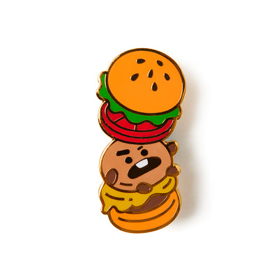 BT21 SHOOKY Bite Metal Badge