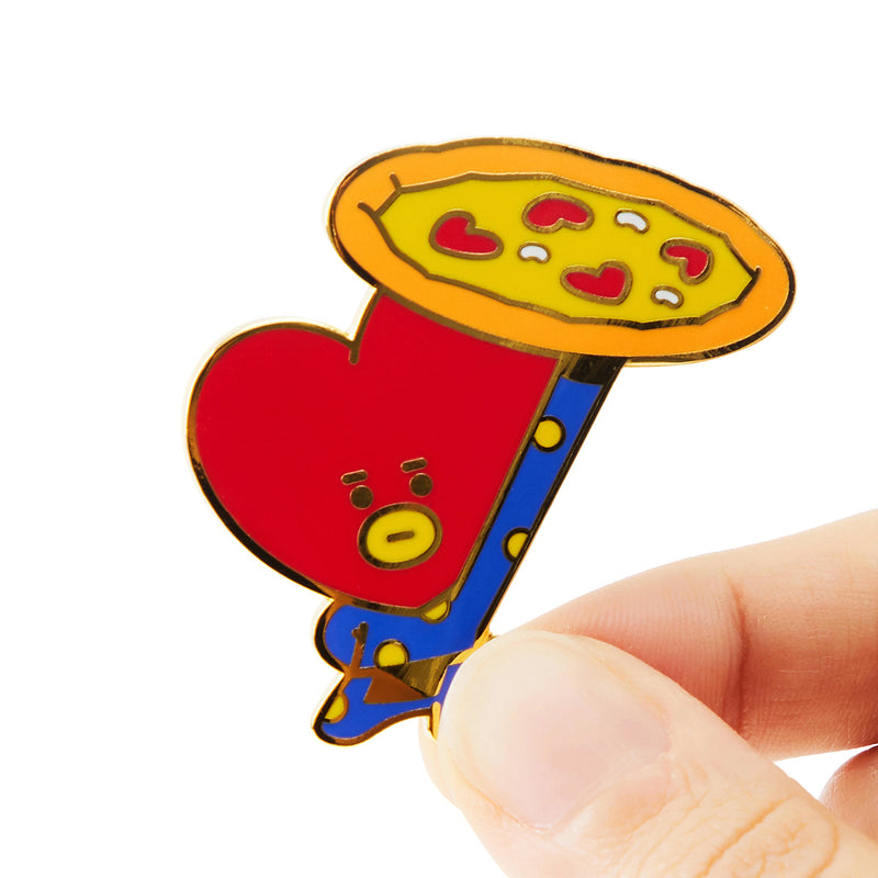 BT21 TATA Bite Metal Badge