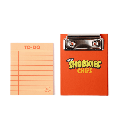 BT21 SHOOKY Sweet Clipboard Memopad Set