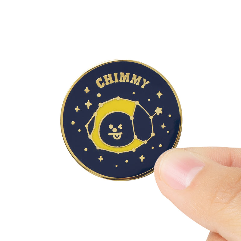 BT21 CHIMMY Universtar Metal Badge 2