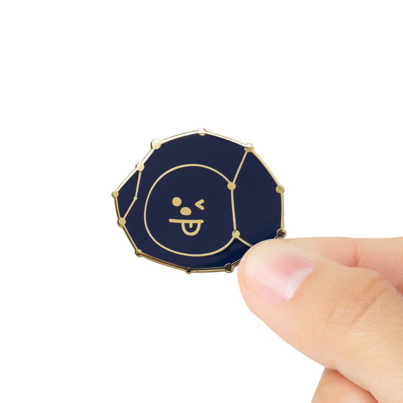 BT21 CHIMMY Universtar Metal Badge 3