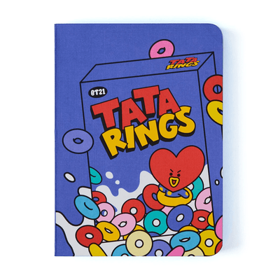 BT21 TATA Sweet Edge Color Notebook